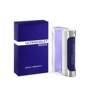 Paco Rabanne Ultraviolet Man Eau de Toilette Men's Aftershave Spray (100ml)