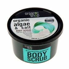 Organic Shop Salt Body Scrubs & Exfoliants