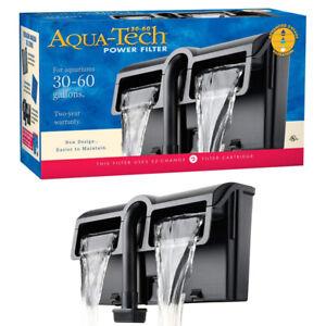 Aqua-Tech 3-Step Filtration Power Aquarium Filter (30-60 Gallon)