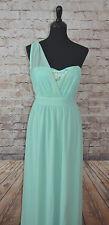 NEW Modcloth Wink & a Promenade dress NWOT  M Mint One-Sholder Maxi MC Exclusive