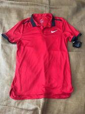 Nike 728947-658 Advantage Solid Polo Golf Tennis Shirt Anthracite Men New