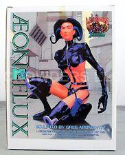 """Aeon Flux Cold Cast Porcelain 8-1/2"""" Hand Painted Statue MTV '96 Legends in 3D"""