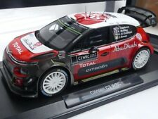 1/18 Norev Citroen C3 WRC 2017 Official Presentation Version 181630