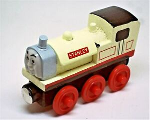 STANLEY THE TANK ENGINE & FRIENDS WOODEN TOY TRAIN MAGNETIC BRIO COMPATIBLE UKGT