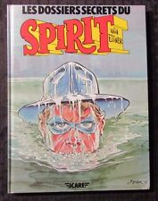 1981 THE SPIRIT Les Dossiers Secrets Du by Will Eisner VF HC French SIGNED icare