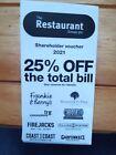 25% off Restaurant Group Voucher