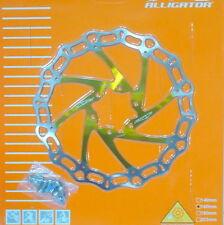 108g 598 180mm gobike88 Alligator disc rotor CROWN Yellow