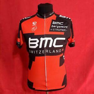 Pearl Izumi BMC Switzerland Cycling Body Jersey t-shirt Full Zip Size 2XL (XL)