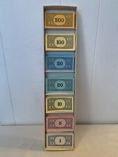 Vintage 1961 Parker Brothers Monopoly Replacement Money