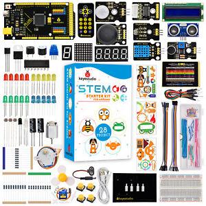 KEYESTUDIO 2560 Plus Board  Electonic Kit for Arduino Starter Kit  Programming