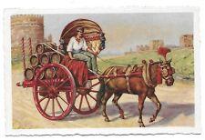 ROME Roma Artist Early Postcard Italy Carro da vino (Costumi Romani) A Scrocchi