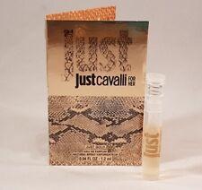 Roberto Cavalli Just Gold Eau de Parfum 1.2ml ladies sample spray x 1