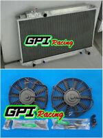 Aluminum Radiator Fans For Toyota Cressida MX83 1989-1992 1990 1991 MANUAL