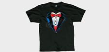 Youth Classic Tuxedo T-Shirt, Cotton Blend( Kids Size: S,M,L, XL)
