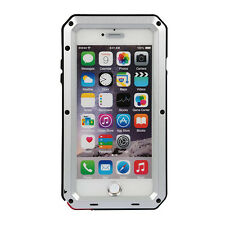 Shockproof Rugged Aluminum Gorilla Glass Metal Full Case Cover For iPhone IP65