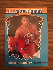 1991 Fleer Charles Barkley Philadelphia Sixers All Star 1
