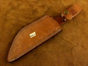 Handmade Leather Sheath for Custom Knife-Knife Sheath-Well Stitched- BGS7