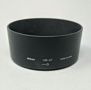 Nikon HB-47 Lens Hood for 50mm f/1.4 G DSLR Camera Lens - EX