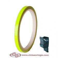 Cinta adhesiva llantas 5025 de Progrip Amarillo Fluorescente