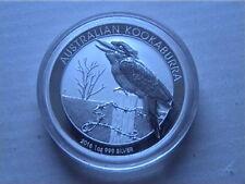 .Australian 10 x 2016 1oz Kookaburra Silver Bullion Coins