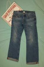 True Religion Billy Jeans Blue Distressed 34 x 33 dq