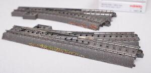Märklin 24611/24612 C Track Pair of Switches Right/Left / Boxed