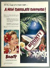 BOUNTY (Mars) - Vintage Magazine Advert (20 March 195) Sweets, Confectionery *