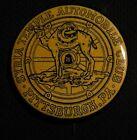 "VTG 1.75"" SYRIA TEMPLE AUTOMOBILE CLUB BADGE PIN PITTSBURGH PA Shriners Masonic"