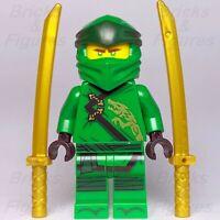 New Ninjago LEGO® Lloyd Legacy Green Ninja Minifigure 70679 70664 70670 Genuine