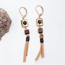 Fashion Bohemian Jewelry Women Vintage Long Tassel Fringe Boho Dangle Earrings