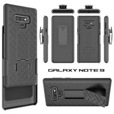 For Samsung Galaxy Note 9 Holster Case Cover Belt Clip Stand Slim Light Black