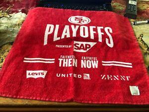 SAN FRANCISCO 49ers Faithful 1/19/2020 NFC Playoffs RALLY TOWEL SGA FREE SHIP