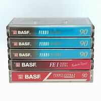 BASF Audio Cassette Tapes- Basf Ferro Maxima 90 And BASF Ferro Extra 90