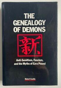 1988 1st The Genealogy Of Demons, Robert Casillo, Ezra Pound, FREE EXPRESS AU