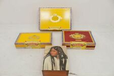 Lot 4 Spanish Grand Canyon Native Indian Cigar Tobacco Boxes