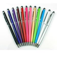 2 in 1 Touch Screen Stylus w/ Ball Point Pen for iPhone iPad Tablet PC Samsung