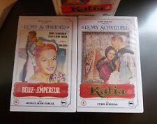 COFFRET 2 VHS RENE CHATEAU - LA BELLE ET L'EMPEREUR/KATIA - NEUVE SCELLEE