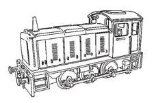 Dapol C60 -  Drewry Class 04 Diesel       Plastic Kit     (00) Railway Model