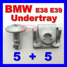 BMW E38 E39 5 7 SERIES ENGINE UNDERTRAY CLIPS SPLASHGUARD SHIELD TRIM COVER
