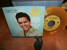 "elvis presley""are you lone""single7""usa-vinyl jaune.gold 50th.rca:pb13895.de1980"