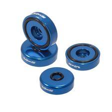 VMS RACING BILLET ALUMINUM BLUE B16 B18 VTEC VALVE COVER WASHER & SEAL KIT 4 PCS