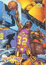 CARTE  NBA BASKET BALL 1993  FAMANIMATION THE MAILMAN (83)