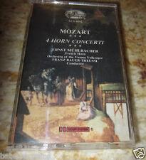 CASSETTE: Ernst Muhlbacker-French Horn/Vienna Volksoper=Mozart: 4 Horn Concerti