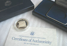 1987-S US Mint Proof Constitution Bicentennial Silver Dollar Commemorative Coin