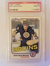 1981/82 Ray Bourque Topps  #5  Graded MINT