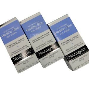3 NEUTROGENA Healthy Skin Eye Cream Ophthalmologist Tested 0.5 oz.