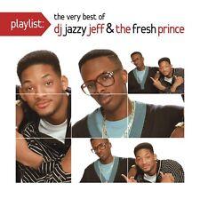 DJ Jazzy Jeff & The Fresh Prince - Playlist: The Very Best of (2015)  CD  NEW