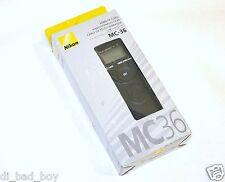 New Genuine Nikon MC-36 MC36  Timer Remote Cord for Nikon D700 D300 D800 D3S