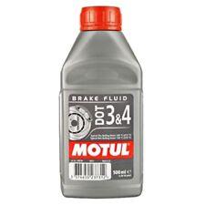 3 X MOTUL DOT 3&4 Olio Liquido freni Auto moto 500ml 100% Sintetico Brake Fluid