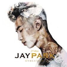 JAY PARK - EVOLUTION ; 2ND ALBUM CD+PHOTOBOOK ) KPOPSTOREinUSA